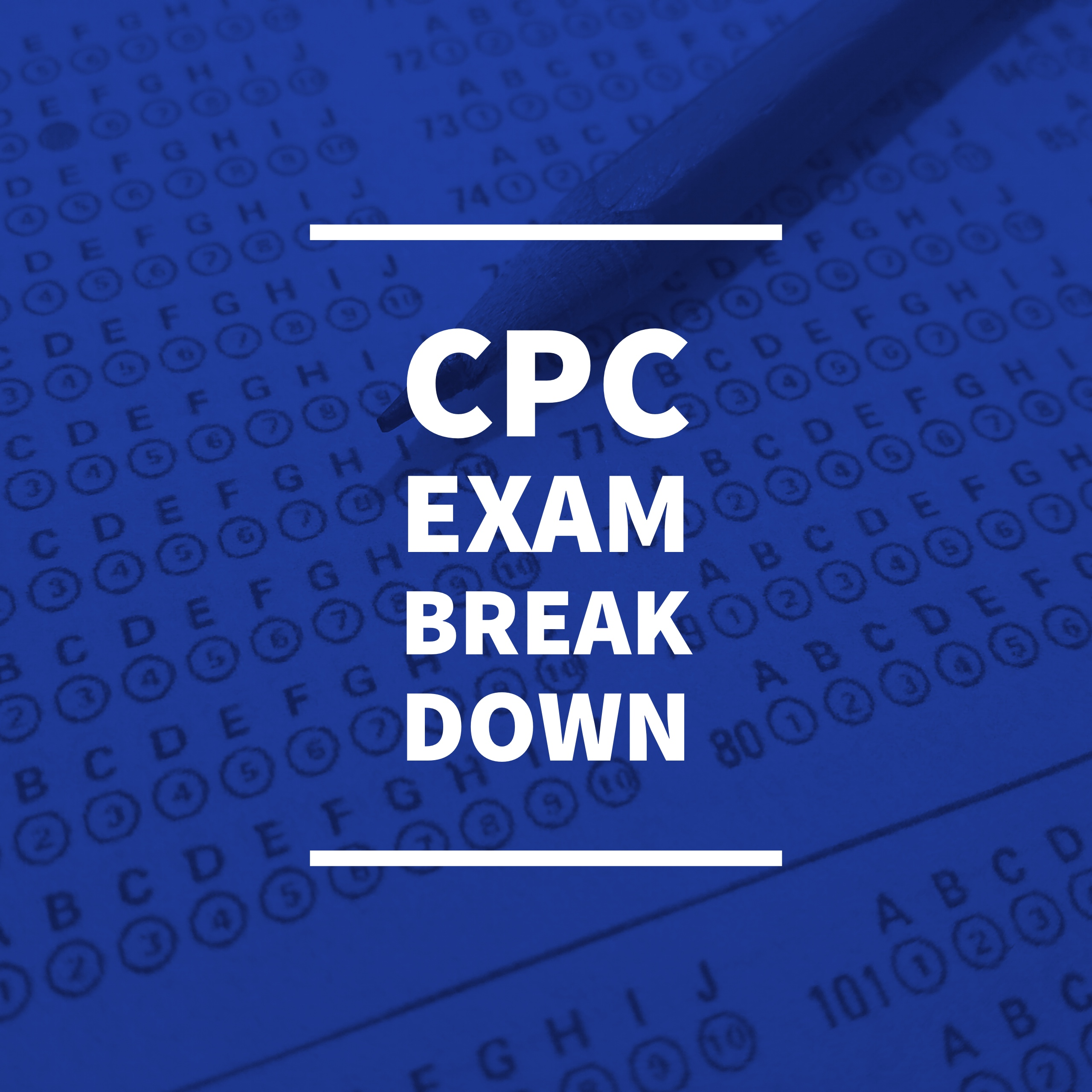 What's In The CPC Exam