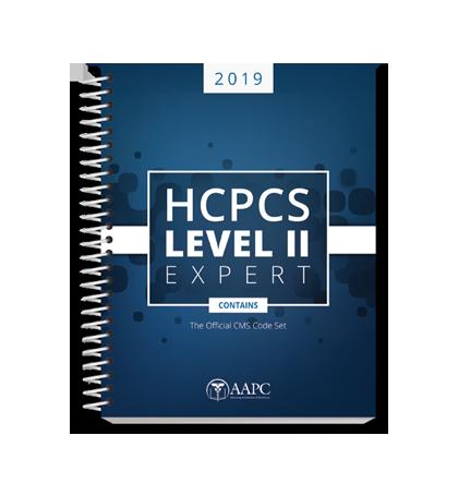 2019 hcpcs