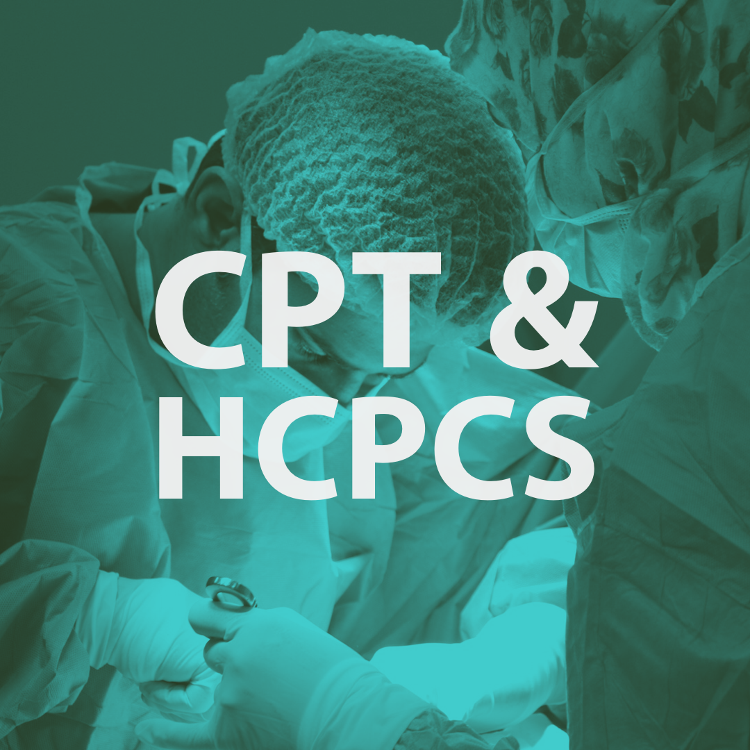 CPT & HCPCS