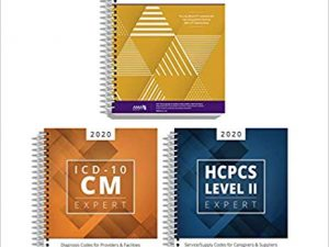 AMA CPT Book, ICD-10 Code Book, HCPCS Book – 2020 Physician Bundle